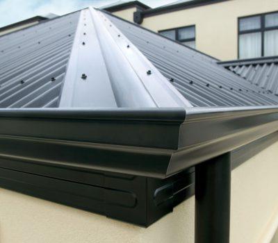 New roof and gutter installtion