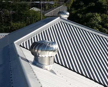 Whirly Bird Installation Sydney Vertec Roofing Contractors